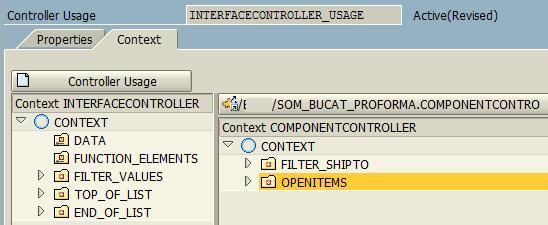 bind componentcontroller context node to ALV table data
