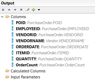 add new column to calculation view output list