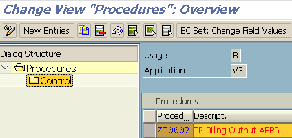 output procedures in SAP NACE transaction