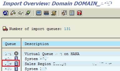 SAP transport request import overview