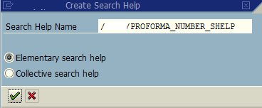 ABAP search help name