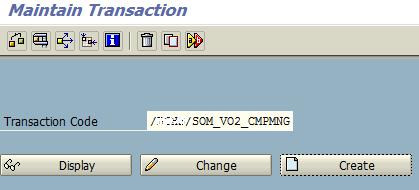 create SAP transaction code using SE93 ABAP tcode