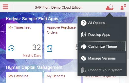 SAP Fiori UI Theme Designer