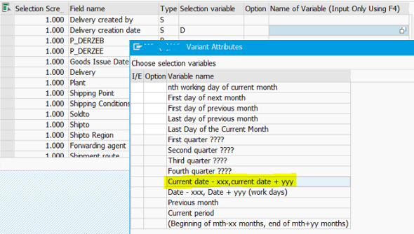 create dynamically calculated range for date select option