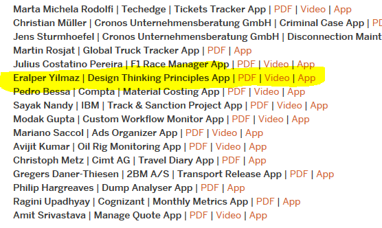 top Fiori apps developed in OpenSap course
