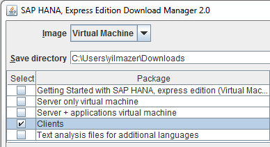 download SAP Hana Express Edition