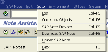 download SAP note to read OSS Note