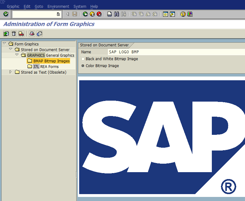 export graphics from SAP SE78 transaction using ABAP