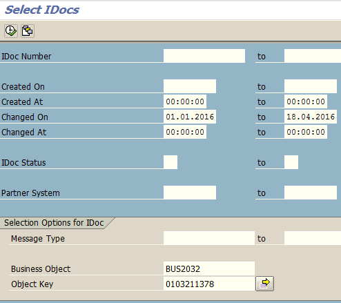 Find IDOC Number from Sales Order Document in SAP