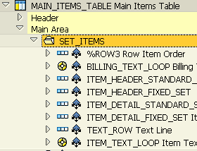 folder control in Smartforms table