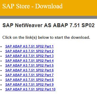 download free SAP Developer edition setup files