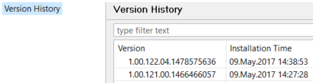 SAP HANA database version history