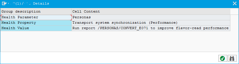 improve SAP Screen Personas flavor read performance