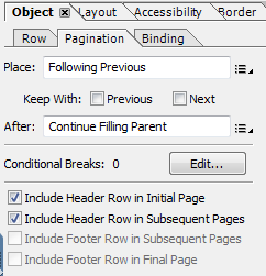 Table HeaderRow on every Adobe Form output page