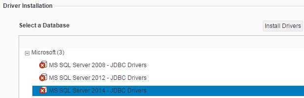 JDBC driver installation for SQL Server on SAP Lumira