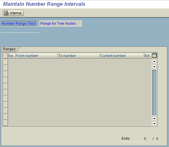 sap-maintain-number-range-intervals-screen