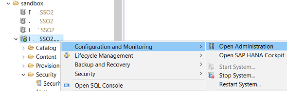 Display Delta Merge Statistics of HANA Database using SAP