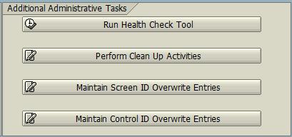 SAP Personas Administration Tool