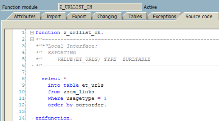 ABAP RFC remote-enabled function module source codes