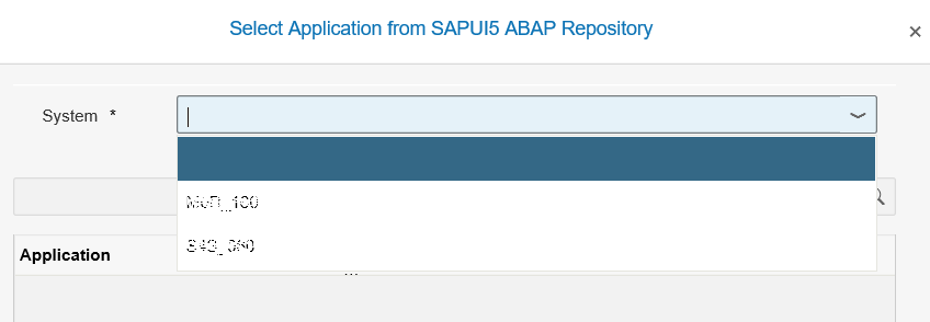 SAP Web IDE destionations for local SAP systems