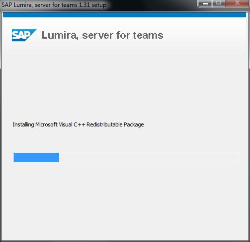 SAP Lumira Server installation