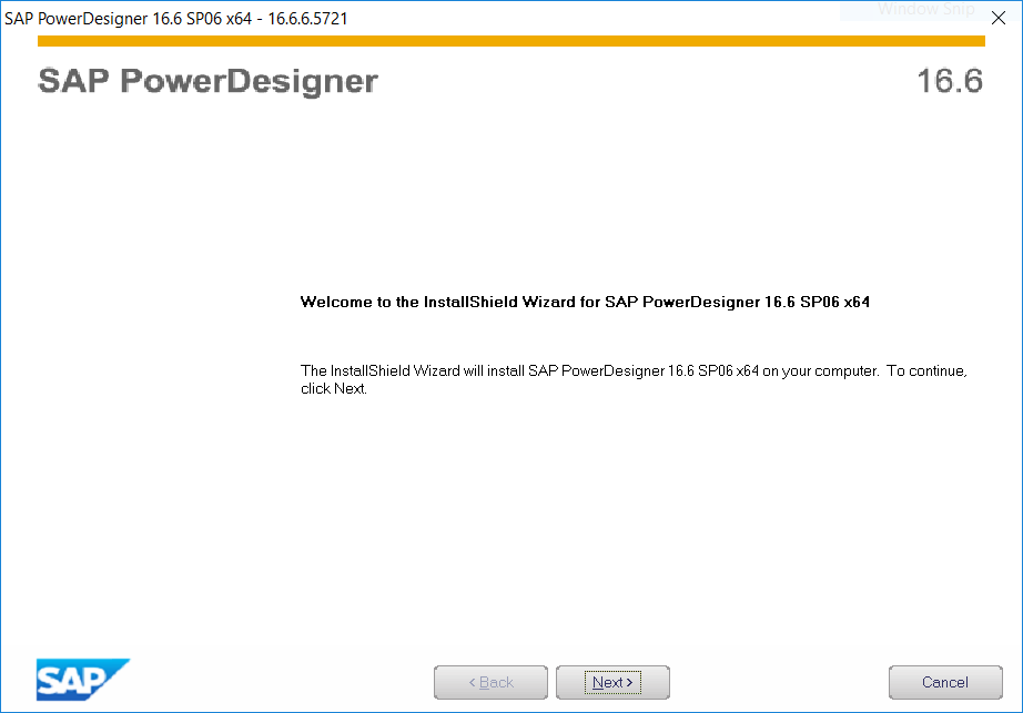 SAP Power Designer InstallShield