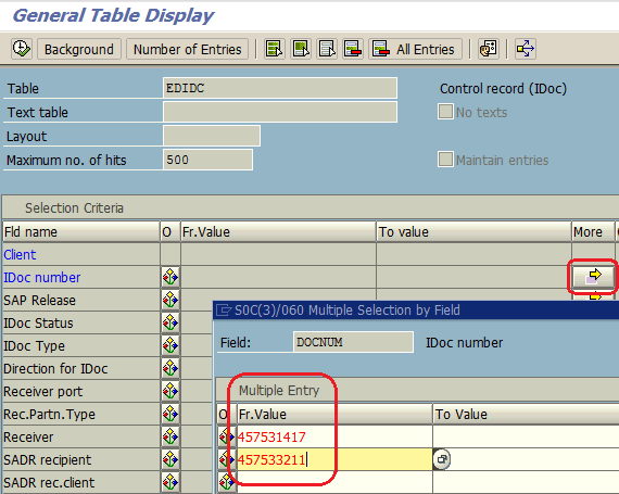 ABAP tcode SE16N to edit SAP table data