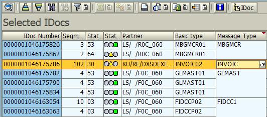 Display IDOC Message Type Segment Field Properties