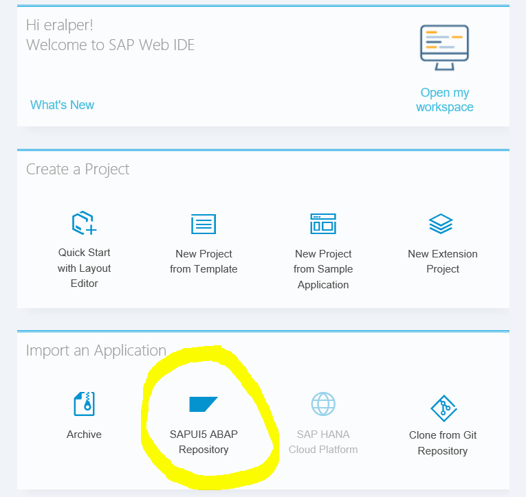 Connect SAP Web IDE to Local SAP System