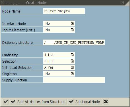 Create node details