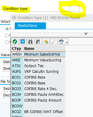 F4 search help for conditions in ABAP
