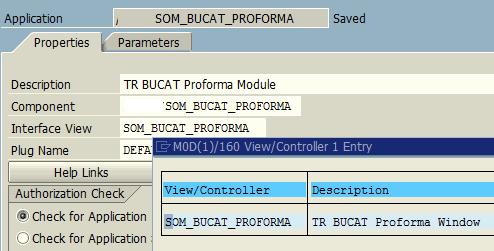 web dynpro application properties