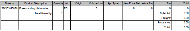 SAP Adobe Form table row visibility