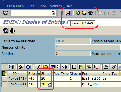 update ABAP table data using SE16N in debugging mode