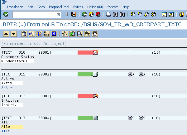 Web Dynpro assistance class text translation