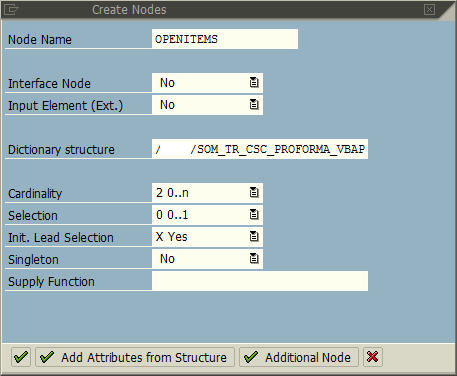 SAP Web Dynpro ALV table data context node