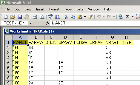 ABAP Tutorial - Upload SAP Data to Excel Spreadsheet using