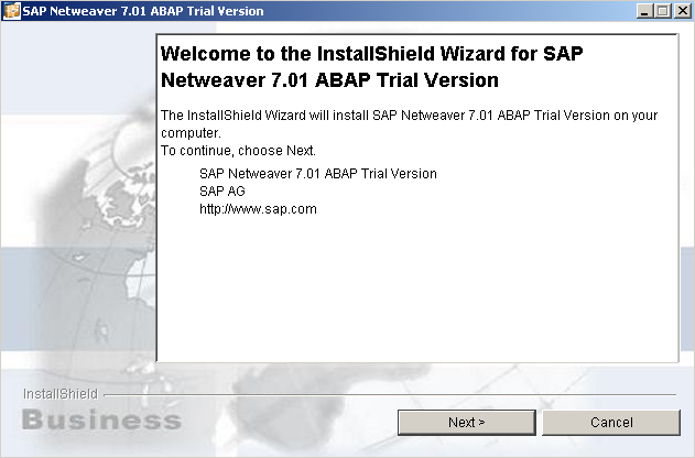 SAP Netweaver installation guide using installshield wizard