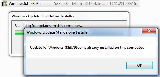 KB979900 installation
