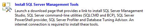 SQL Server Management Studio SSMS setup for SQL Server 2016