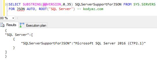 SQL Server JSON Support for Database Developers
