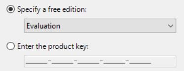 SQL Server 2017 product key