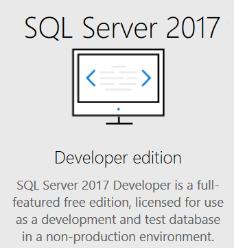 download SQL Server 2017 Developer Edition free