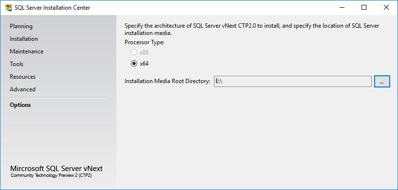 SQL Server 2019 installation media