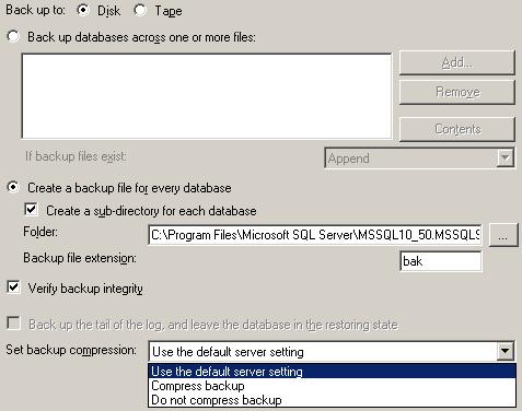 sql-server-database-backup-to-disk-compression