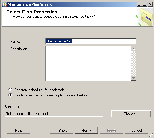 sql-server-maintenance-plan-properties