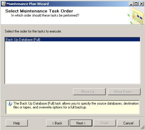 sqlserver-maintenance-plan-task-order