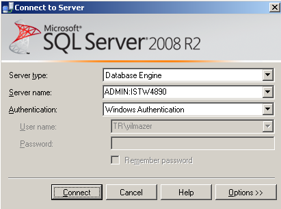 SQL Server dedicated administrator connection DAC