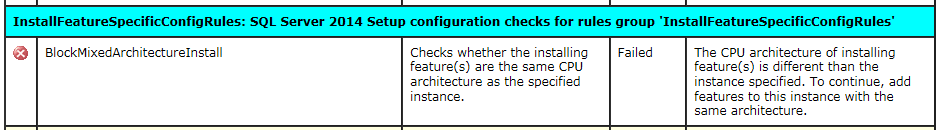 SQL Server Data Tools setup error