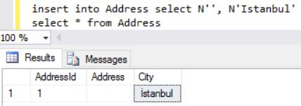 SQL Server database table trigger to correct spelling errors